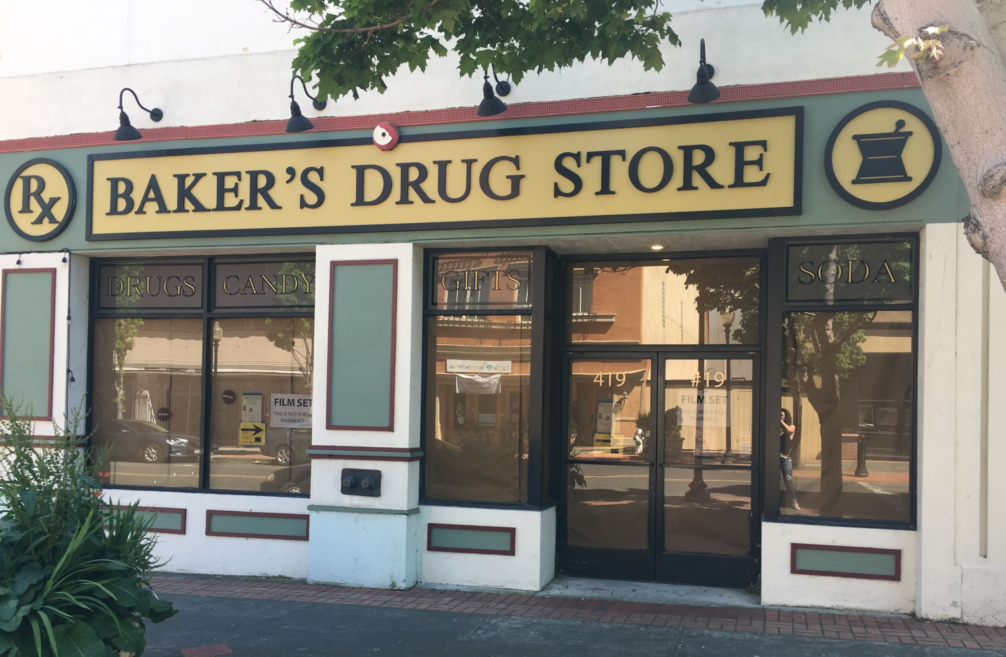 Baker's drug store in 13 Reasons Why